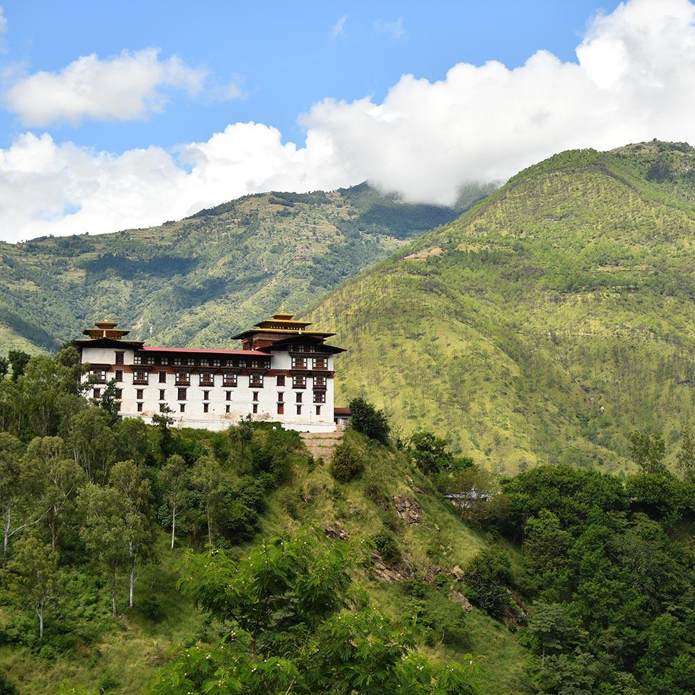 Trashigang Dzong in Bhutan