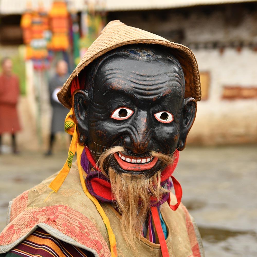 Bumthang Tshechu Mask