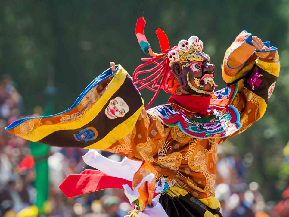 Wangdue Phodrang Tshechu in Bhutan