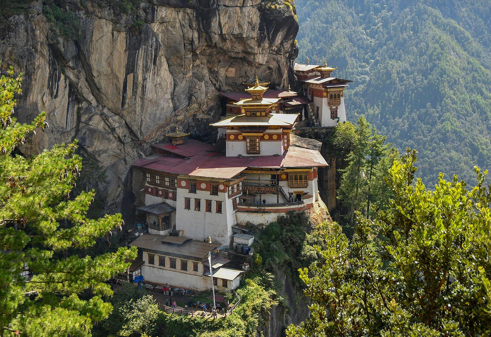 Tiger's Nest Monastery in Bhutan